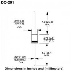 Dioda Supresor 1.5KE180CA